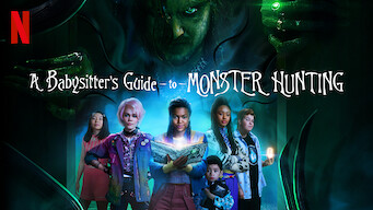 A Babysitter's Guide to Monster Hunting 2020 banner HDMoviesFair